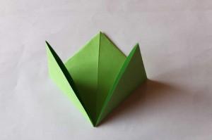 origami grenouille 04