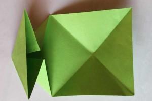origami grenouille 07