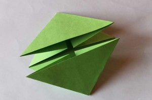 origami grenouille 08