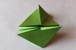 origami grenouille 10