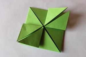 origami grenouille 11