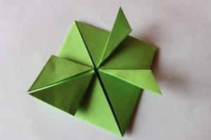 origami grenouille 12
