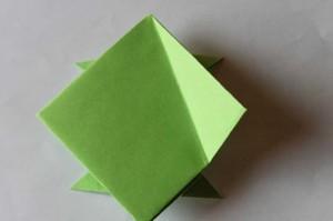 origami grenouille 14