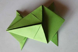origami grenouille 15