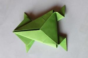origami grenouille 18