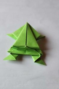 origami grenouille 21