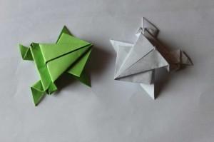 origami grenouille 22