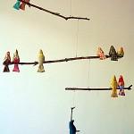 """Le mobile """"oiseau"""" de chez Spoolsewing"""